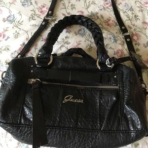 Guess black crossbody/shoulder bag